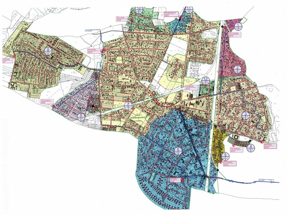 Ausbau der Schmutzwasserkanalisation der Stadt Hohen Neuendorf